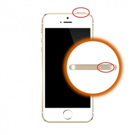 Riparazione Tasto Accensione iPhone 5S