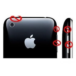 sostituzione tasti laterali iPhone 3g (on,off,mute,volume)