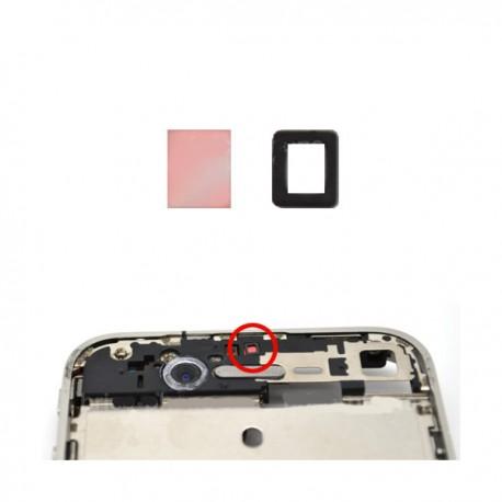 Filtro per sensore di prossimita' con spessore in spugna adesivo per iPhone 4G