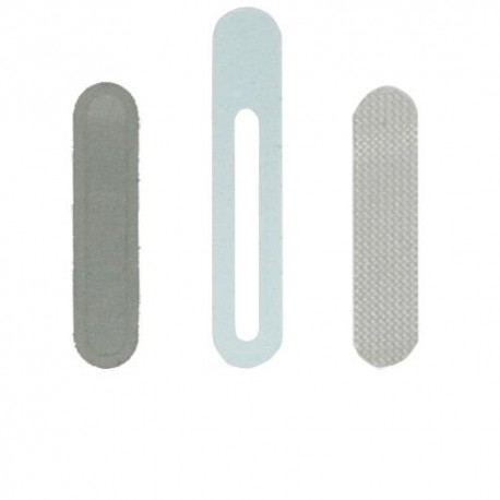 Set Griglie Metalliche antipolvere per Speaker Auricolare iPhone 4 4S