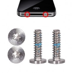 Set 2 viti TORX Pentalobe per iPhone 4 e 4S