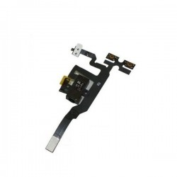 Jack Audio + Flex Flat tasti laterali Nero/Bianco per iPhone 4S