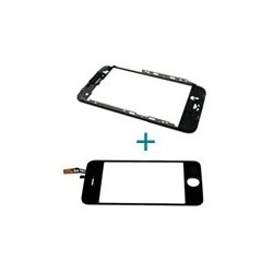 Sostituzione Cornice Middle Frame + Vetro Touch iPhone-3GS