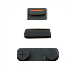Kit tasti laterali iPhone 5G Nero / Argento