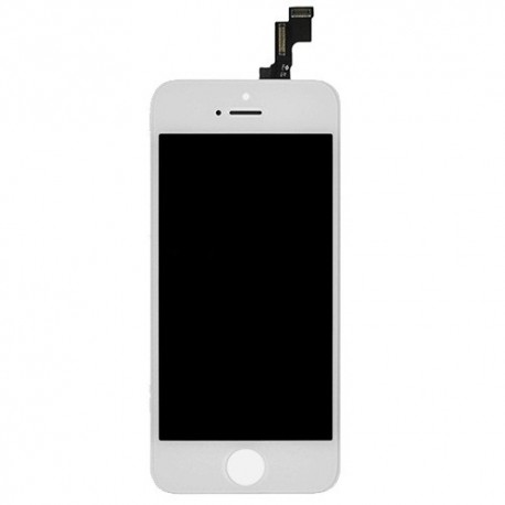 Display LCD + Vetro Touch iPhone 5S Bianco
