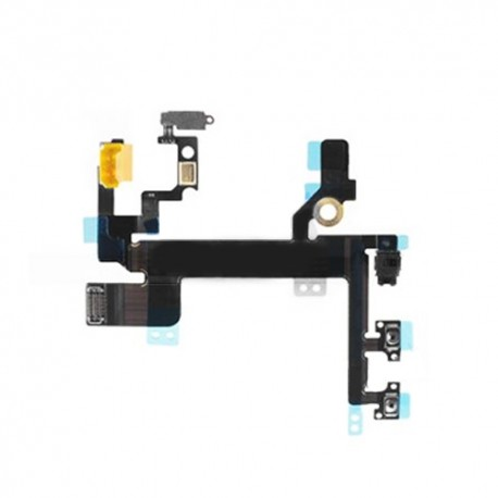 Flex tasti laterali + Tasto On/Off + interruttore mute iPhone 5S