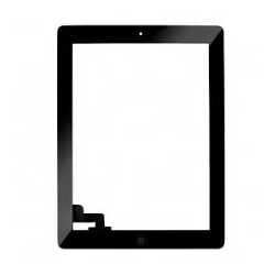 Vetro Digitizer Touch Screen assemblato iPad 2 Nero