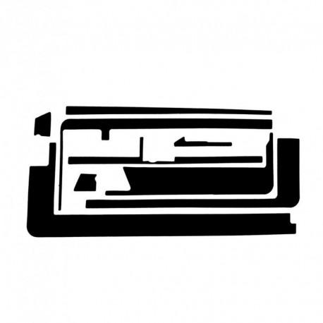 Kit adesivi fissaggio vetro touch screen iPad 2