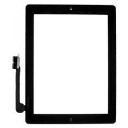 Vetro Digitizer Touch Screen assemblato iPad 3 Nero