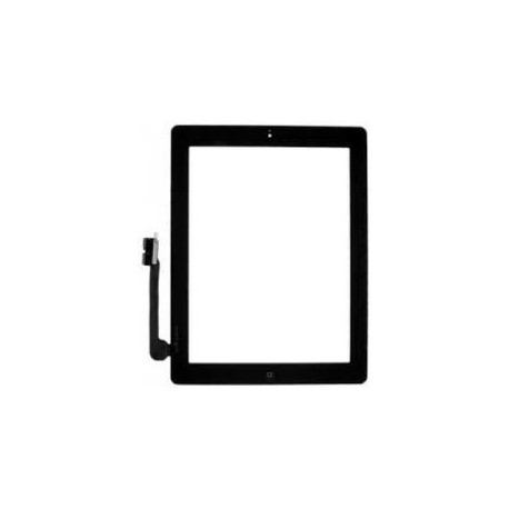 Vetro Digitizer Touch Screen assemblato iPad 4 Nero