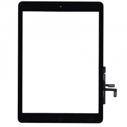 Vetro Digitizer Touch Screen assemblato iPad Air Nero
