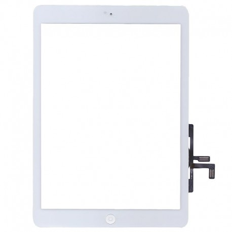 Vetro Digitizer Touch Screen assemblato iPad Air Bianco