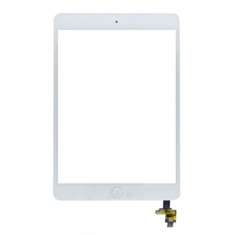 Vetro Digitizer Touch Screen assemblato iPad mini Bianco