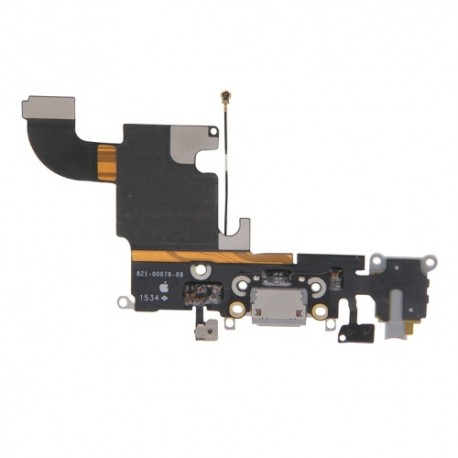 Connettore dock + Jack audio + microfono + antenna iPhone 6G Bianco/Nero