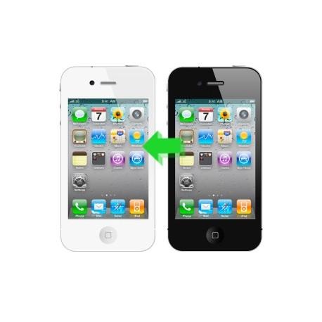 Cambio Colore Nero/Bianco iPhone 4S