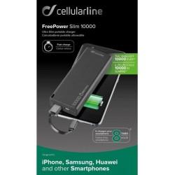 Batteria tascabile d'emergenza Cellularline 10000mAh