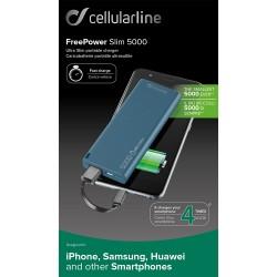 Batteria tascabile d'emergenza Cellularline 5000mAh