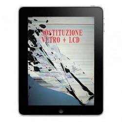 Riparazione Vetro Touch + Display LCD iPad 2