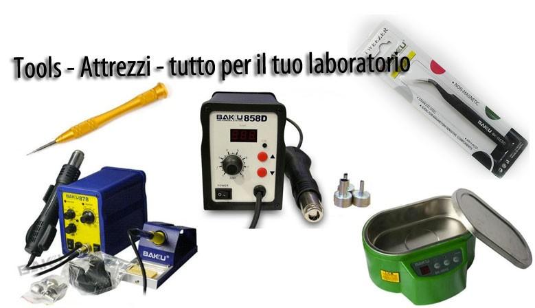 Tools - Attrezzi - tutto per il tuo laboratorio